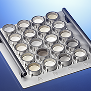 BEasyLoad XY Tray with pressed pellets